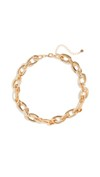 chunky gold chain necklace or bracelet