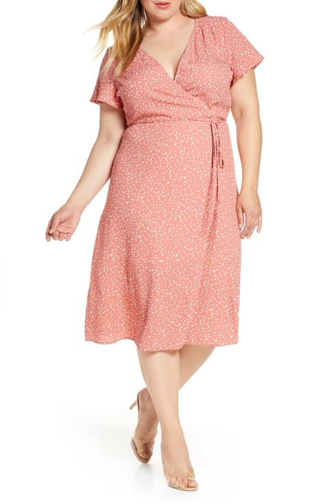Plus Size Wedding Guest Dresses,Short Wedding Dresses With Sleeves