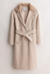 Petite Studio NYC Gigi cashmere blend coat Oatmeal