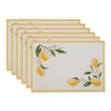 DII Lemon Bliss Kitchen Placemats
