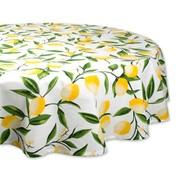 DII Lemon Bliss Print Tablecloth