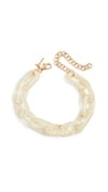 white gold chain bracelet