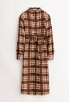 Petite Studio NYC bergen dress - brown plaid