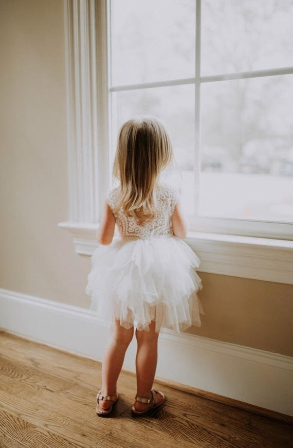 The Mini Wedding Dress 16 Flower Girl Dresses To Match Your