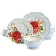 Pioneer Woman Sweet Rose dinnerware set